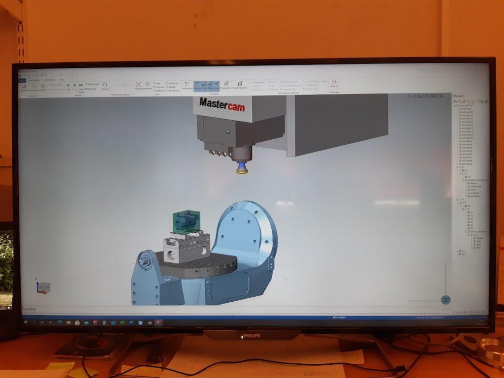 Skärande bearbetning Widal Industri och Mastercam